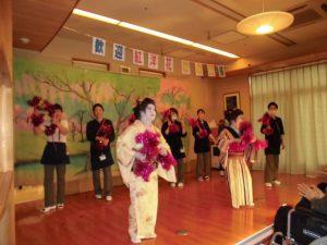 紅洋花舞踊団様慰問2